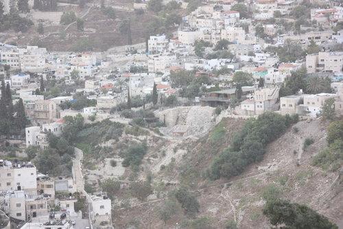 La Cité de David, mise à jour par des fouilles archéologiques