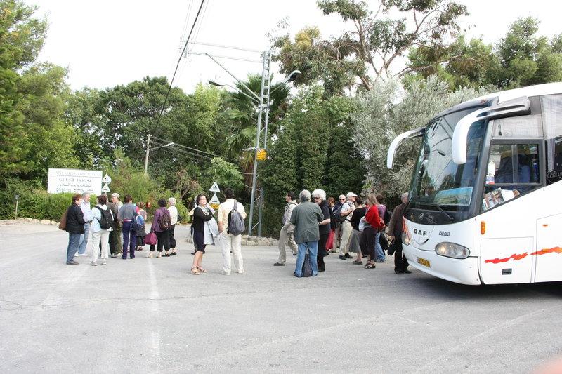 Notre arrivée à Neve Shalom
