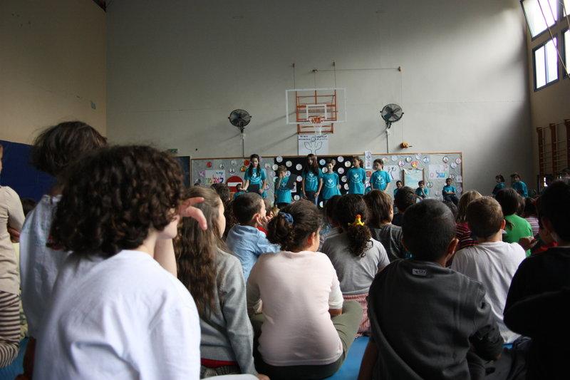 Commémoration de la mort de Rabin par les enfants de Neve Shalom