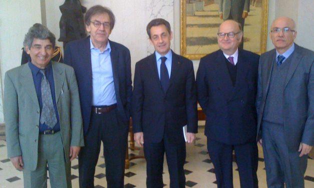 Les dirigeants de JCall reçus par le Président de la République à l'Élysée