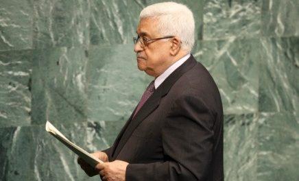 """Abu Mazen : """"La Palestine, pour moi, s'arrête aux frontières de 1967, aux côtés d'Israël"""""""