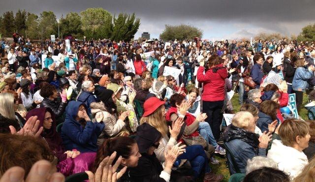 Des milliers de femmes manifestent pour la paix à Jérusalem