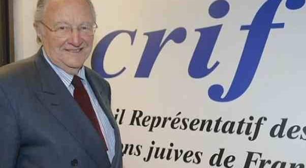 Rencontre avec Roger Cukierman, président du CRIF, mardi 29 septembre.