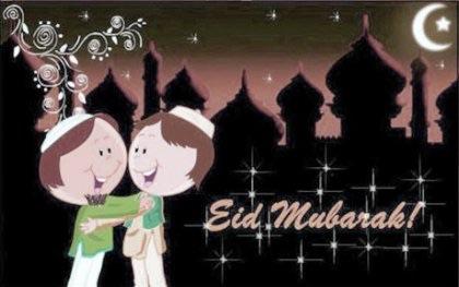 Eïd el-Kébir Mubarak à tous nos amis musulmans !