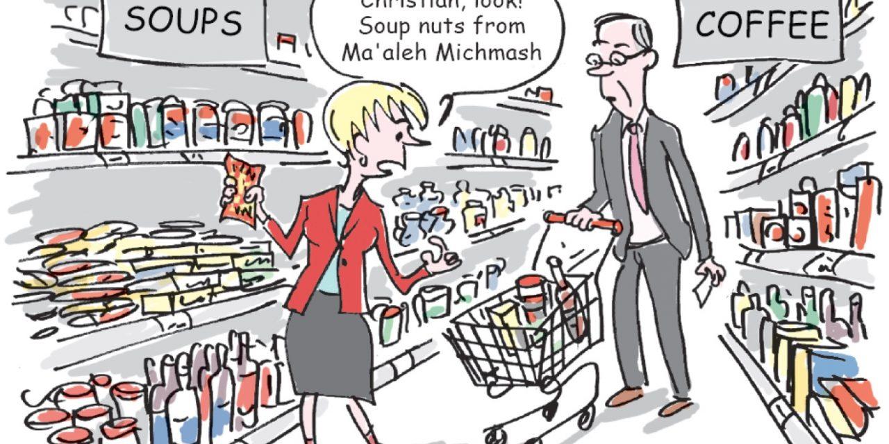 L'étiquetage des produits des territoires occupés, une mesure politique