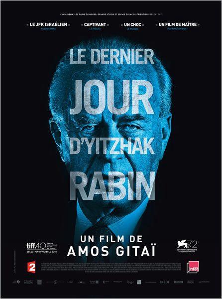 """Projection-débat du film d'Amos Gitaï, """"Le dernier jour d'Yitzhak Rabin"""", le 16/12 à L'Arlequin"""