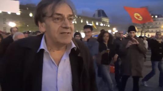 """Nuit debout"" et Alain Finkielkraut"