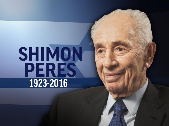 Shimon Pérès n'est plus… Shalom 'Haver !