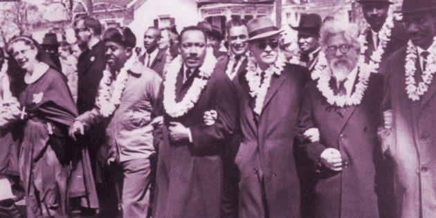 Martin Luther King (1929-1968) et Abraham Joshua Heschel (1907-1972) :  Deux âmes, une voix prophétique