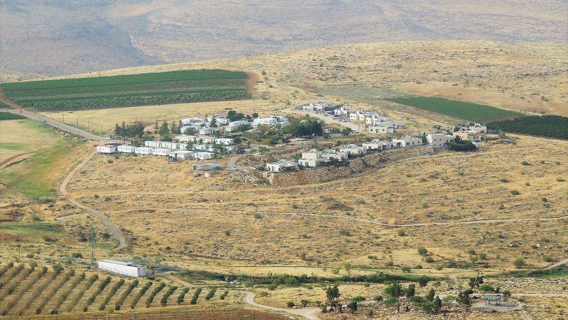 Shalom Akhshav se joint à l'action contre Mitzpeh Kramim