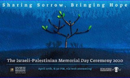 YOM HAZIKARON… Israéliens et Palestiniens pleurent ensemble ceux qu'ils ont perdus.
