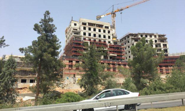 Sur l'évolution de la situation de Givat Hamatos et Ramat Shlomo