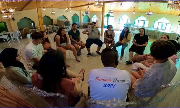 «Un camp  d'été de rencontre et de paix» (avec le soutien de La Paix Maintenant)